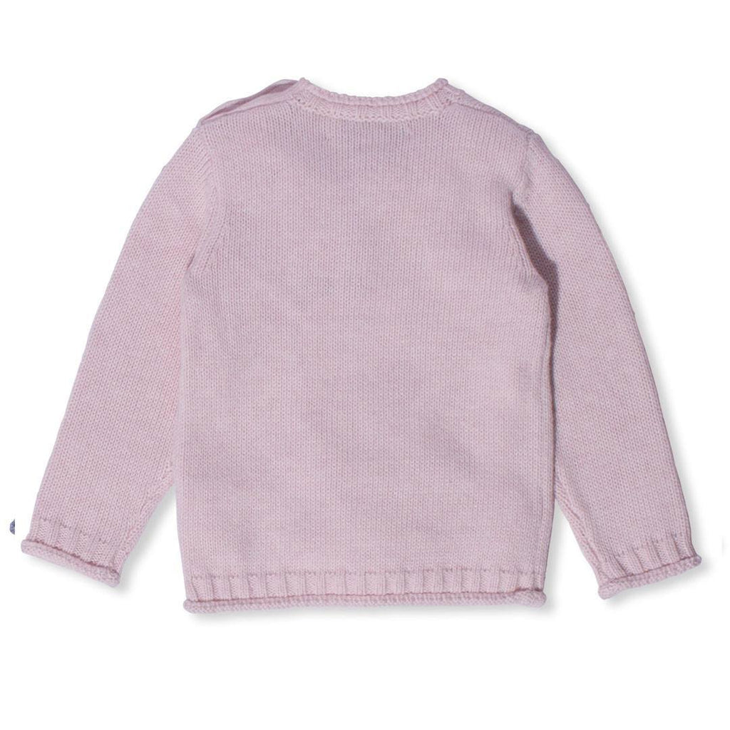 Hoodies & Cardigans - Bonnie Baby Poe Sweater - Pink Calico
