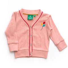 Hoodies & Cardigans - Little Green Radicals My Best Cardigan - Pink