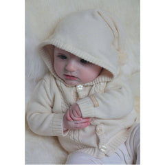 Hoodies & Cardigans - Natures Purest Hooded Cardigan - Natures Knits