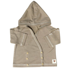 Hoodies & Cardigans - Nurtured By Nature Hooded Cardigan - Hush Merino - Kelp