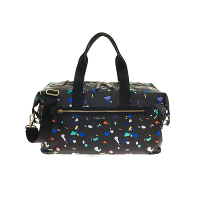 JEM + BEA Edie Weekender Changing Bag - Funfetti-Changing Bags- Natural Baby Shower