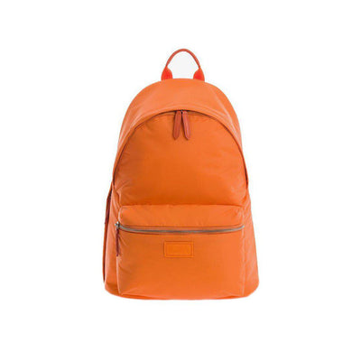JEM + BEA Jamie Sustainable Backpack Changing Bag - Orange-Changing Bags- Natural Baby Shower