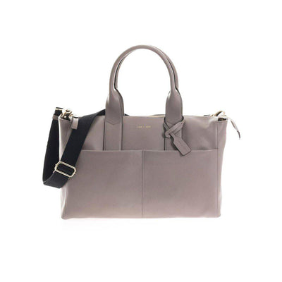 JEM + BEA Jemima Changing Bag - Grey-Changing Bags- Natural Baby Shower