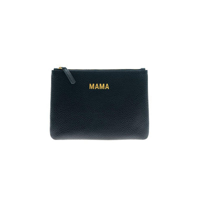 JEM + BEA MAMA Clutch Bag - Black-Changing Bag Accessories- Natural Baby Shower