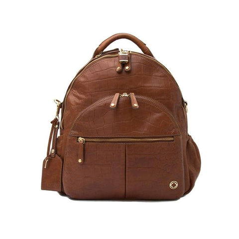 KeriKit Joy Leather Changing Bag - Tan