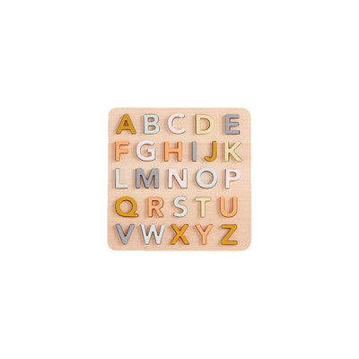 Kid's Concept ABC Puzzle - Natural-Puzzles-Natural- Natural Baby Shower