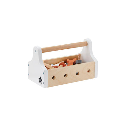 Kid's Concept Tool Box - Natural Star-Play Sets-Natural/Star- Natural Baby Shower