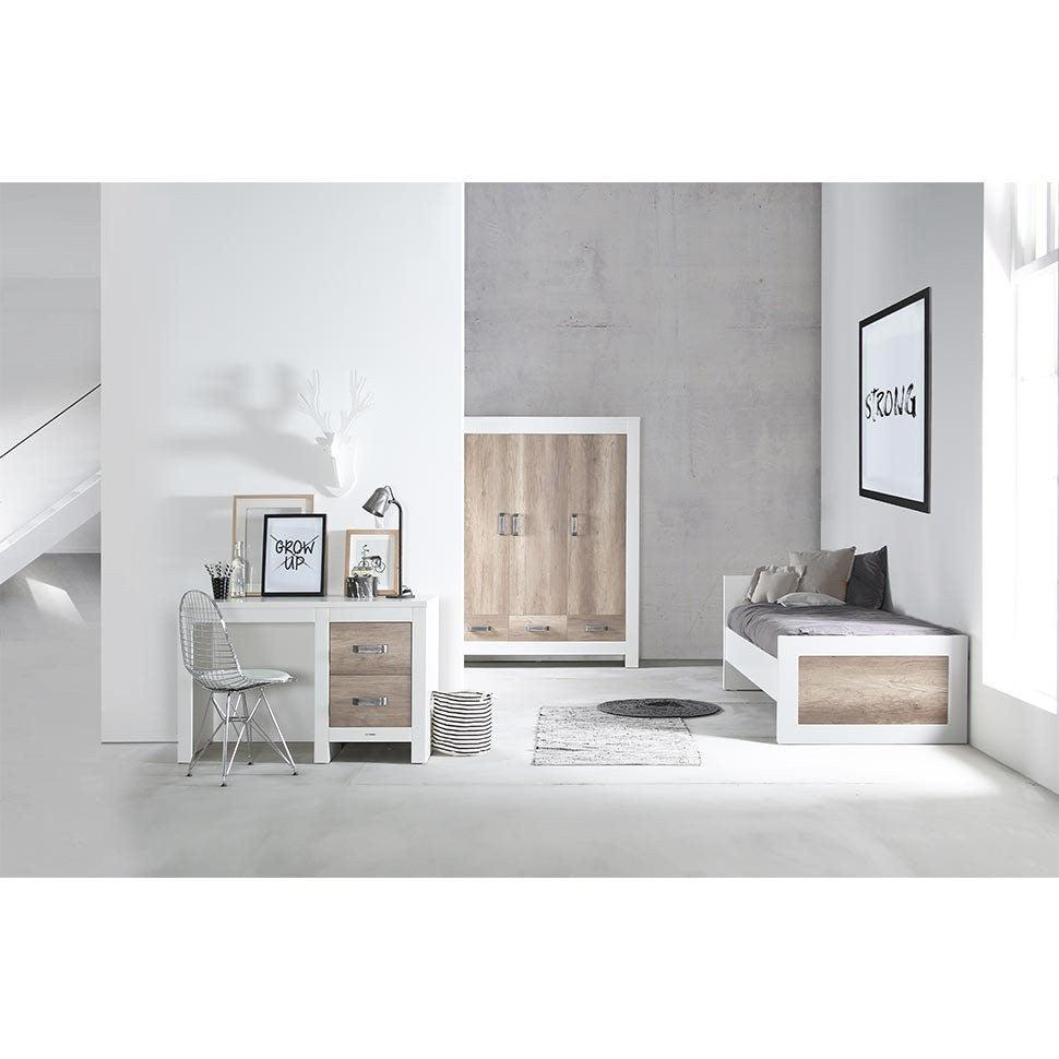 Kidsmill Costa Wardrobe - 3 Doors-Wardrobes- Natural Baby Shower