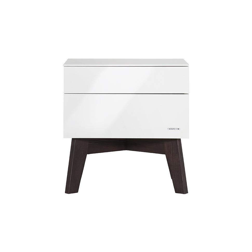 Kidsmill Sixties Pine High Gloss - Bedside Table-Dressers & Chests- Natural Baby Shower