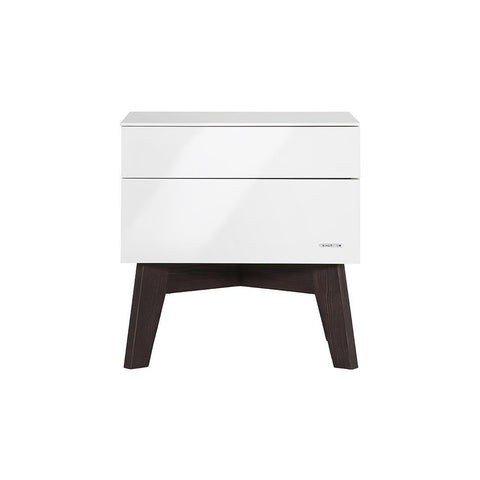 Nursery Accessories - Kidsmill Sixties Bedside Table Pine High Gloss