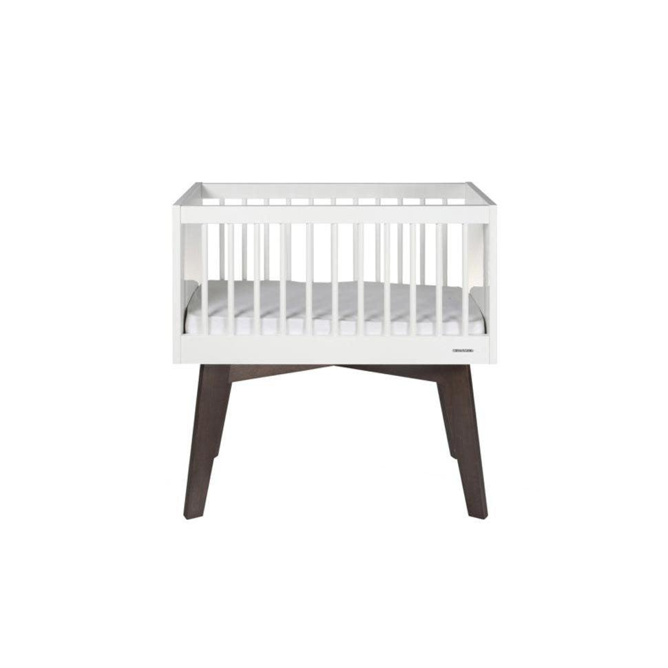 Cot Beds - Kidsmill Crib Sixties - White & Pine