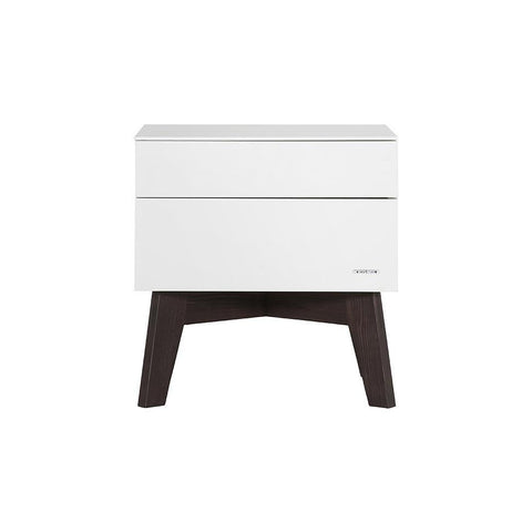 Nursery Accessories - Kidsmill Sixties Pine Matt Bedside Table