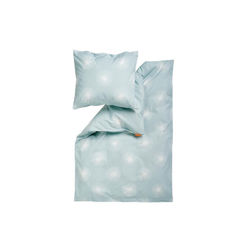 Leander Baby - Junior Bed Bedding 70x100 - Misty Blue-Bedding Sets-Misty Blue- Natural Baby Shower