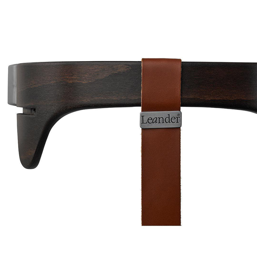 Leander High Chair Leather Strap - Brown