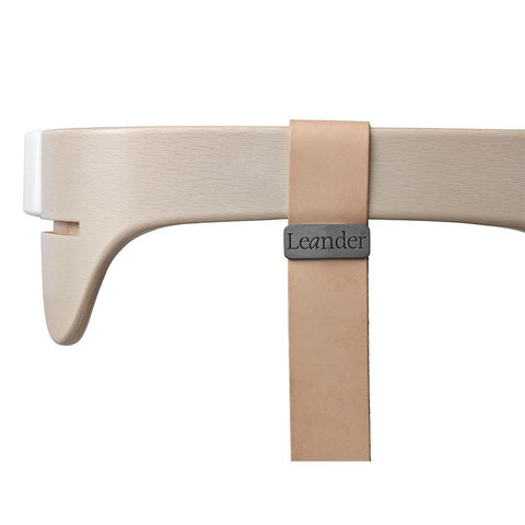Leander High Chair Leather Strap - Natural-High Chair Harnesses-Natural- Natural Baby Shower