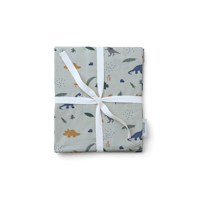 Liewood Carmen Baby Bedding - Dino Dove Blue Mix-Bedding Sets- Natural Baby Shower
