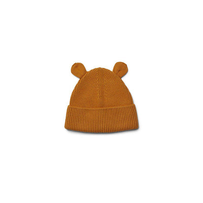 Liewood Gina Beanie Hat - Mustard-Hats- Natural Baby Shower
