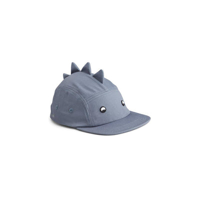 Liewood Rory Cap - Dino Blue Wave-Hats- Natural Baby Shower