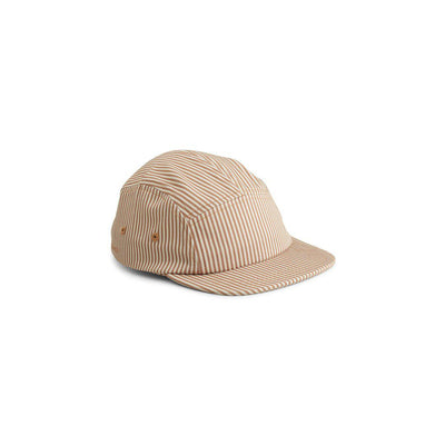Liewood Rory Cap - Stripe Tuscany Rose/Sandy-Hats- Natural Baby Shower