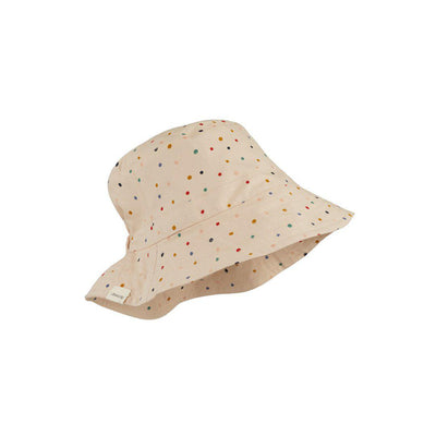 Liewood Sander Bucket Hat - Confetti Mix-Hats- Natural Baby Shower