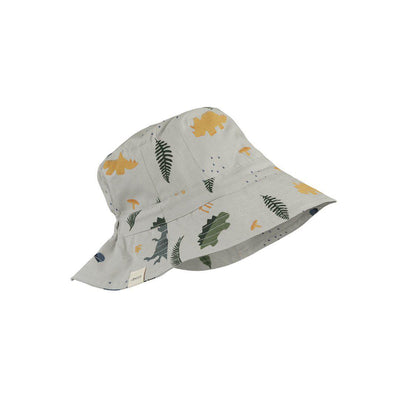 Liewood Sander Bucket Hat - Dino Dove Blue Mix-Hats- Natural Baby Shower