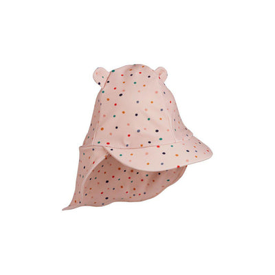 Liewood Senia Sun Hat - Confetti Mix-Hats- Natural Baby Shower