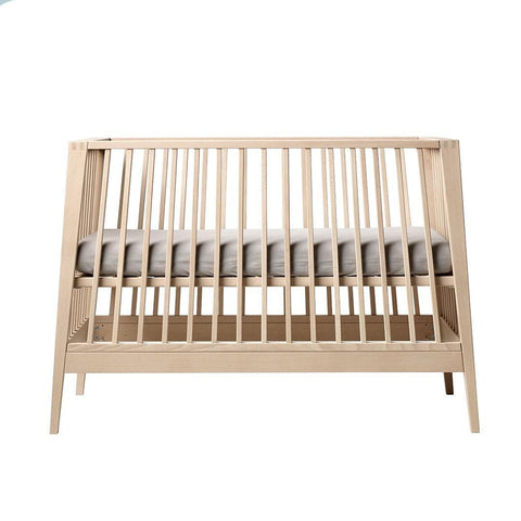 Linea by Leander Baby Cot - Solid Beech
