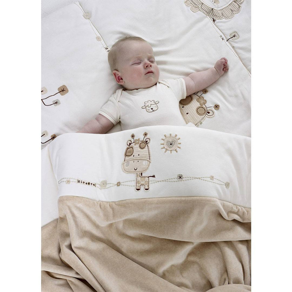 Natures Purest Quilt - Sleepy Safari - Sheets & Bedding - Natural Baby Shower