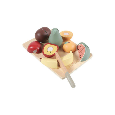 Little Dutch Cutting Board - Fruit-Play Sets-Fruit- Natural Baby Shower