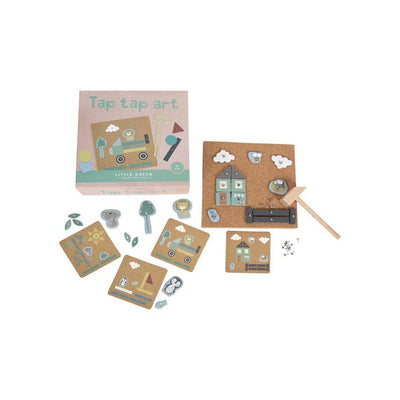 Little Dutch Tap Tap Art Set - 162 Pcs-Play Sets- Natural Baby Shower