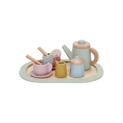Little Dutch Wooden Tea Service Set - Multi-Play Sets-Multi- Natural Baby Shower