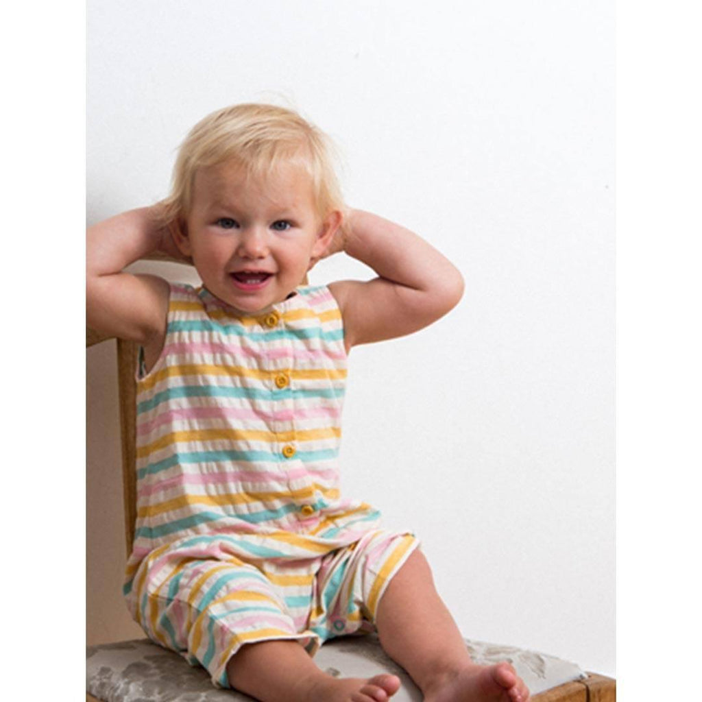 Little Green Radicals - Salt Water Taffy Seersucker Playsuit Lifestyle