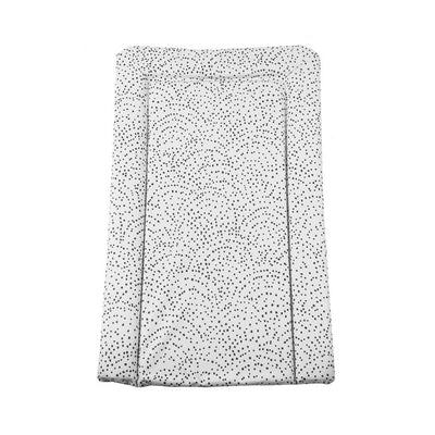 Mabel + Fox Table Changing Mat - Spotty Curve Mono-Changing Mats- Natural Baby Shower
