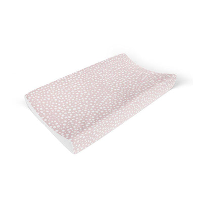 Mama Shack Anti Roll Changing Mat - Pink Spotty-Changing Mats & Covers- Natural Baby Shower