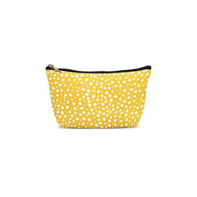 Mama Shack Changing Bag Pouch - Mustard Spotty-Changing Bag Accessories- Natural Baby Shower