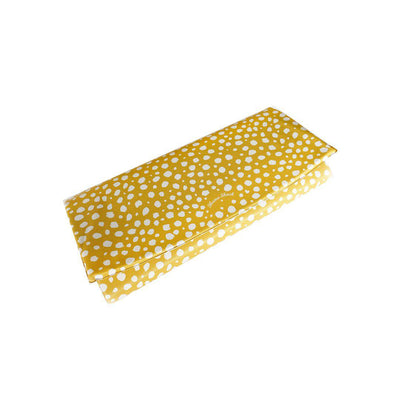 Mama Shack Travel Mat - Mustard Spotty-Changing Mats- Natural Baby Shower