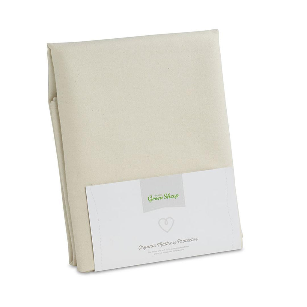 Mattress Protectors - The Little Green Sheep - Organic Mattress Protector - Single 90x190cm