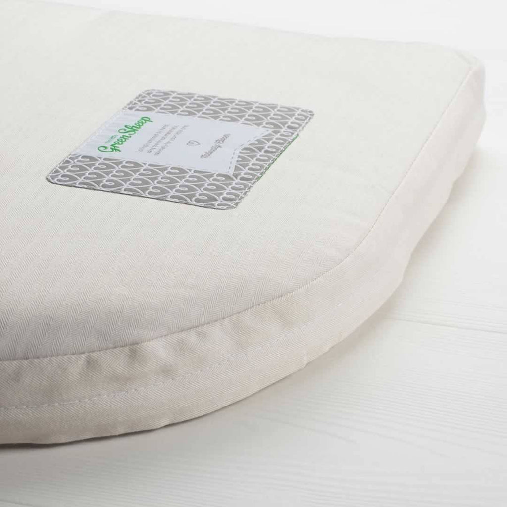 Mattresses - The Little Green Sheep - Natural Crib Mattress - BabyBay Maxi