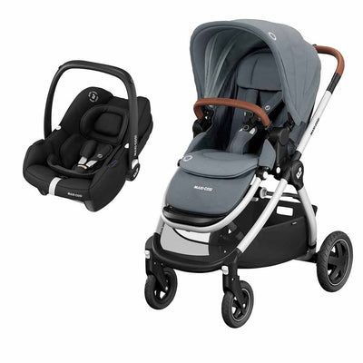 Maxi-Cosi Adorra Travel System - Essential Grey-Travel Systems- Natural Baby Shower