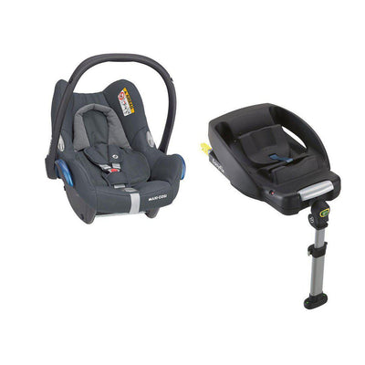 Maxi-Cosi Cabriofix + Easyfix - Essential Graphite-Car Seats- Natural Baby Shower