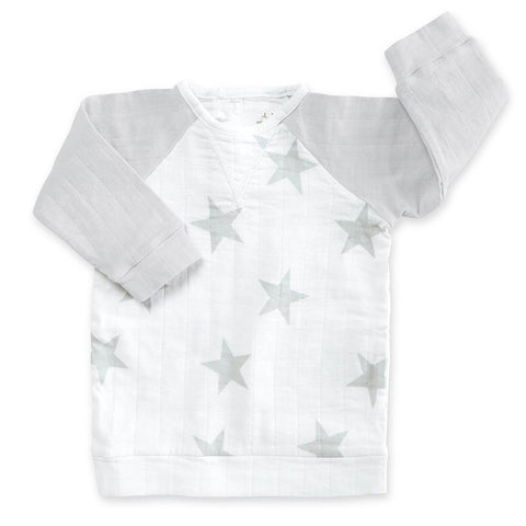 aden + anais Baseball Top - Micro Chip Star
