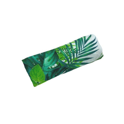 Miilk Muslin - Tropical Green Leaf-Swaddling Wraps- Natural Baby Shower