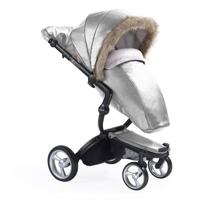 Mima Winter Outfit Kit-Footmuffs-Argento- Natural Baby Shower