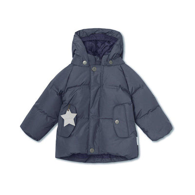 MINI A TURE Woody Jacket - Ombre Blue-Coats & Snowsuits- Natural Baby Shower