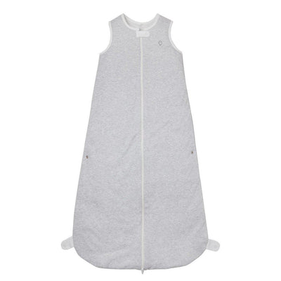 MORI Front-Opening Sleeping Bag 1.5 Tog - Grey-Sleeping Bags- Natural Baby Shower