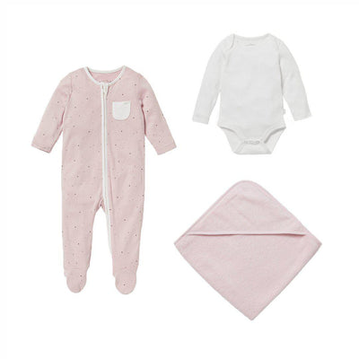 MORI Soak + Sleep Set - Stardust-Clothing Sets- Natural Baby Shower