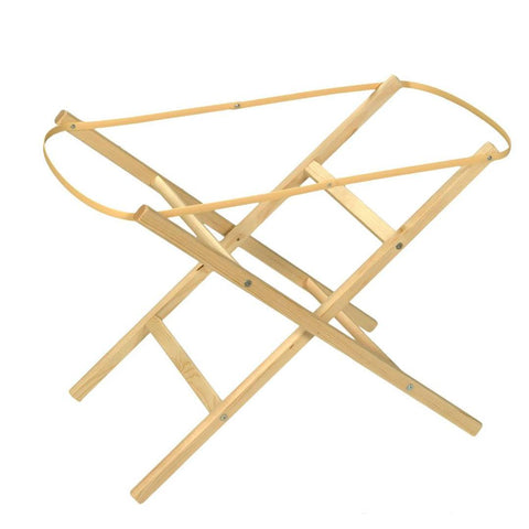 Moses Baskets - Moses Basket Stand - Eco Folder - Natural