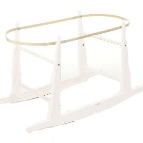 Moses Baskets - Moses Basket Stand - Eco Rocker - White