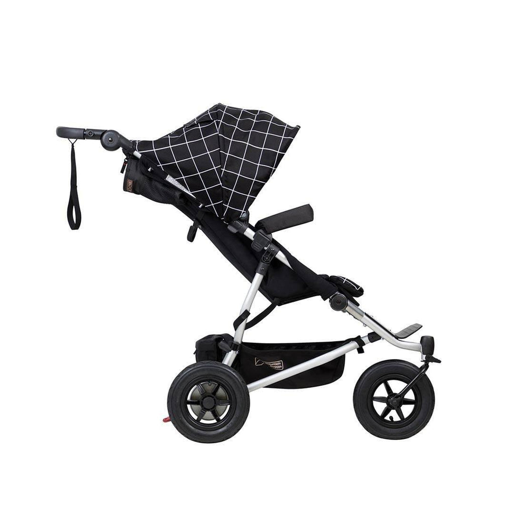 Mountain Buggy Duet V3 Pushchair - Grid-Strollers- Natural Baby Shower
