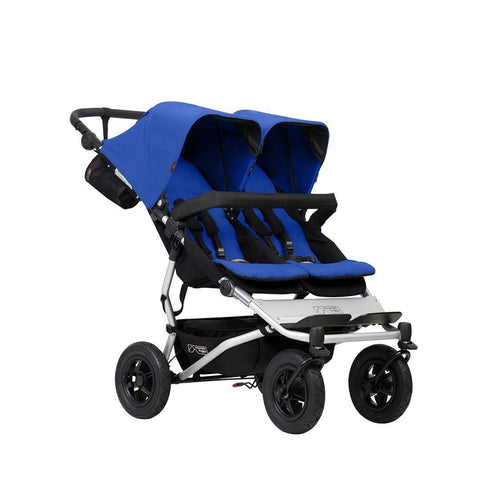 Strollers -  Mountain Buggy Duet V3 Pushchair - Marine